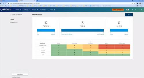 RLDatix - risk management functionality