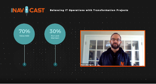 Navicast – Balancing IT Operations with Transformation Projects