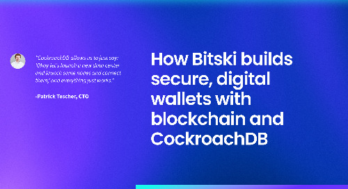 How Bitski builds secure, digital wallets with blockchain and CockroachDB