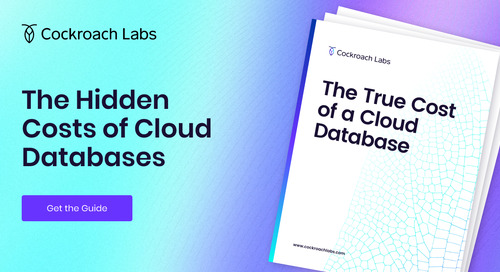 The True Cost of a Cloud Database
