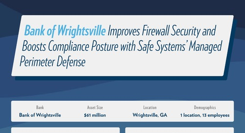 Bank of Wrightsville Case Study on Firewall Security