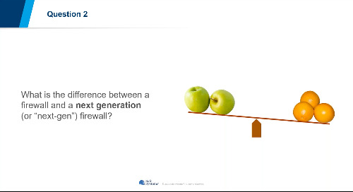 Firewall Chat: A Panel Discussion on the Technical Advances in Firewalls
