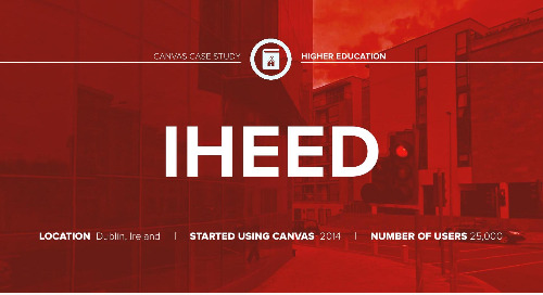Case Study: IHEED Medical Education