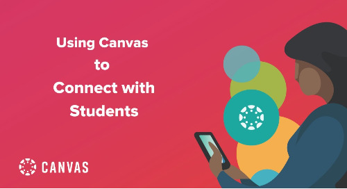 Video: Using Canvas to Connect with Students