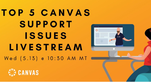 Video: Top 5 Canvas Support Issues