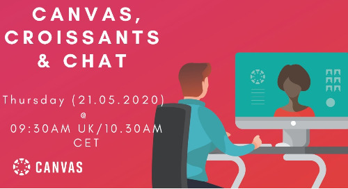 Livestream: Canvas, Croissants & Chat - Engaging Your Students While Teaching Online