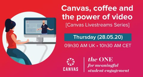 Livestream: Canvas, Coffee & the Power of Video