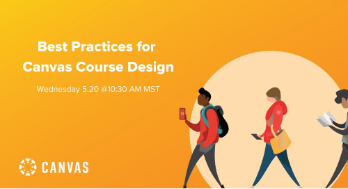 Video: Best Practices for Canvas Course Design