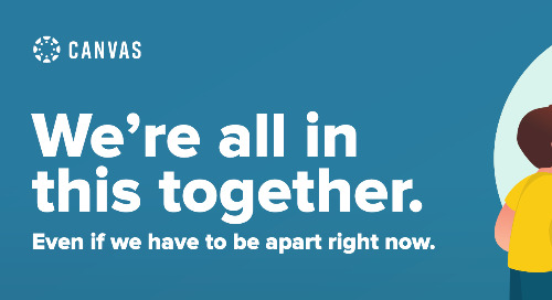 We're All In This Together – Even If We Have to Be Apart
