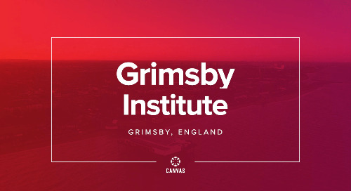 Grimsby Institute & Canvas: Inspiring Lives Through Technology