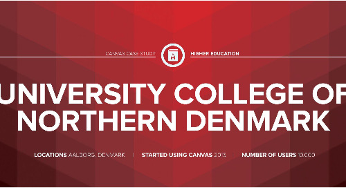 Infographic: University College of Northern Denmark