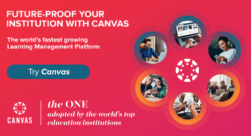 Product Infosheet: The Canvas Learning Management Platform