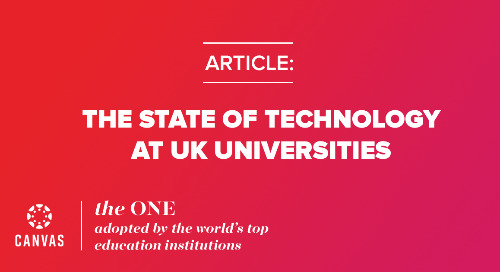The State of Technology at Universities in the UK