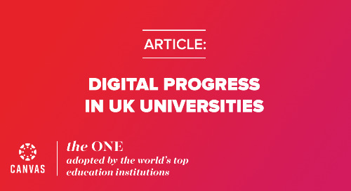 UK Universities - Digital Leadership Report