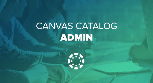 How does Canvas Catalog Interact with your Canvas Account?