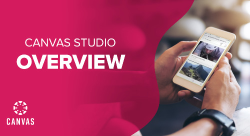 How to use Canvas Studio