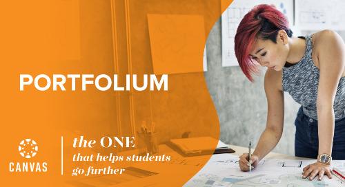 Canvas Portfolium, ayudando a los alumnos a llegar más lejos