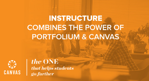 Instructure Combines the Power of Portfolium & Canvas