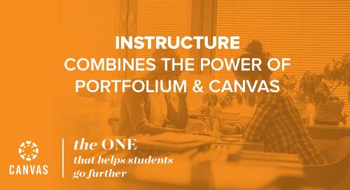 Instructure Combines the Power of Portfolium & Canvas