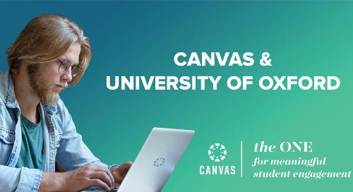 Canvas at Oxford University