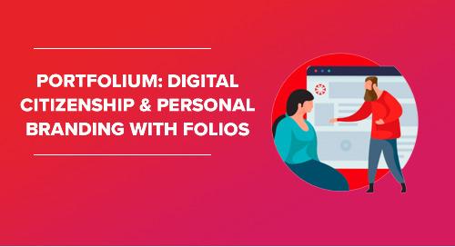 Livestream: Portfolium - Digital Citizenship & Personal Branding with Folios