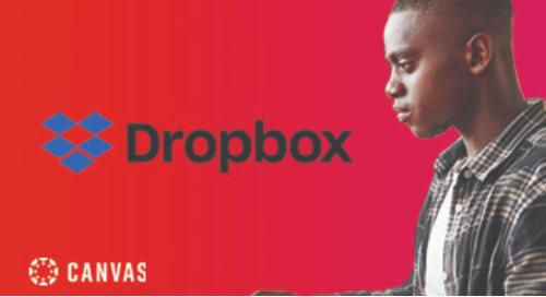 Video: Dropbox + Canvas Demo