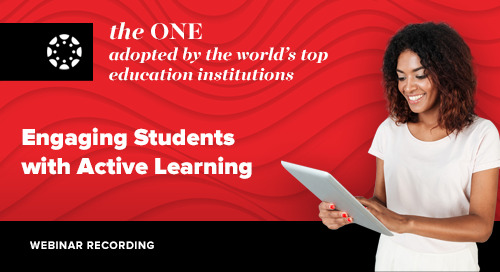 Webinar: Engaging Students with Active Learning