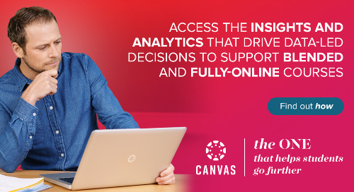 Infographic: Leveraging Canvas Data to Provide Actionable Insights