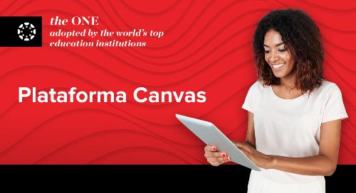 Canvas Learning Management Platform totalmente compatible