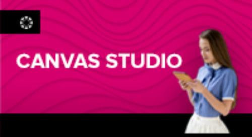 Canvas Studio incrementa la participación de los alumnos.