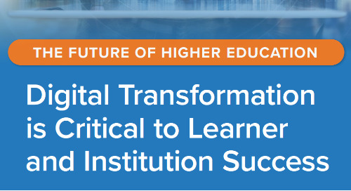 Digital Transformation is Critical to Learner & Institution Success