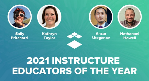 Instructure Recognises Four Outstanding EMEA Educators Redefining Teaching in the COVID-19 Era