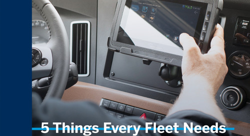 5 Things Every Fleet Needs to Know Before Upgrading Their In-Cab Technology