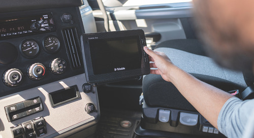 Trimble Duo Marks the Latest Innovation for In-Cab Connectivity for Transportation