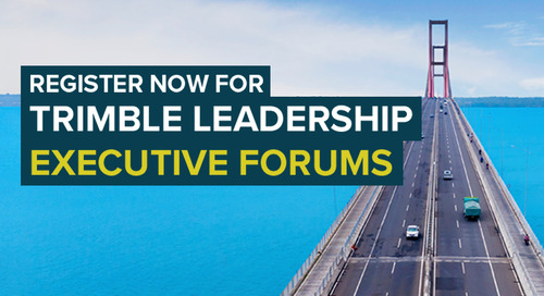 in.sight 2020 Trimble Leadership Executive Forums