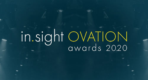 Trimble Celebrates Customer Innovations with 2020 in.sight Ovation Awards