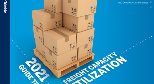 2021 Guide to Freight Capacity Utilization