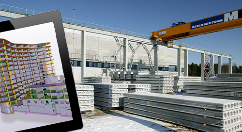 Stable growth in concrete, steel and glazing construction - UPB increases efficiency every year