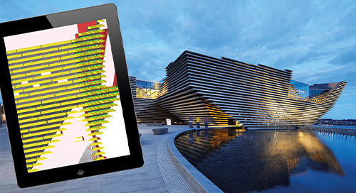 Complex geometry mastered at V&A Dundee thanks to Tekla software
