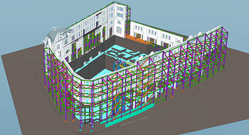 Prestigious Knightsbridge Façade supported, thanks to Tekla Structural Designer