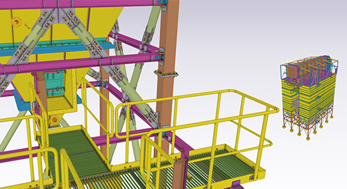 Demonstrating the power of Tekla on the South Korean power plant