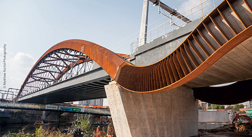 Innovative digital design delivery for the Ordsall Chord in Manchester, UK