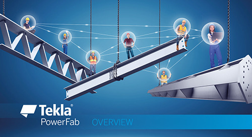Tekla PowerFab - Overview