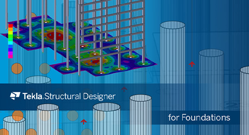 Tekla Structural Designer for Foundations