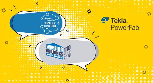 Tekla PowerFab and Wareing Buildings