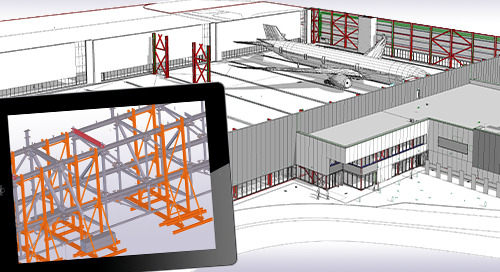 Boeing hangar proves sky is the limit for Tekla