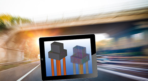 BRC uses Tekla Structures on collaborative pilot M1 Motorway BIM project