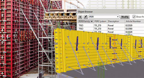 The relationship between BIM and Formwork