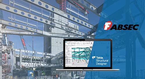 Cellular Fabsec Beam Design using Tekla Structural Designer & FBEAM