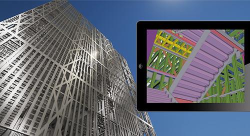 Entrega de marcos de metal ligero con Tekla Structures